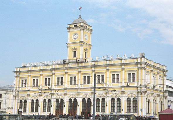 Проект производства работ на реконструкцию Ленинградского вокзала