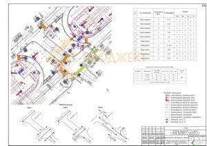 пример проекта реконструкции светофорного объекта