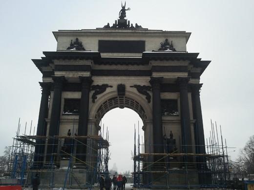 ппр на реставрацию триумфальной арки