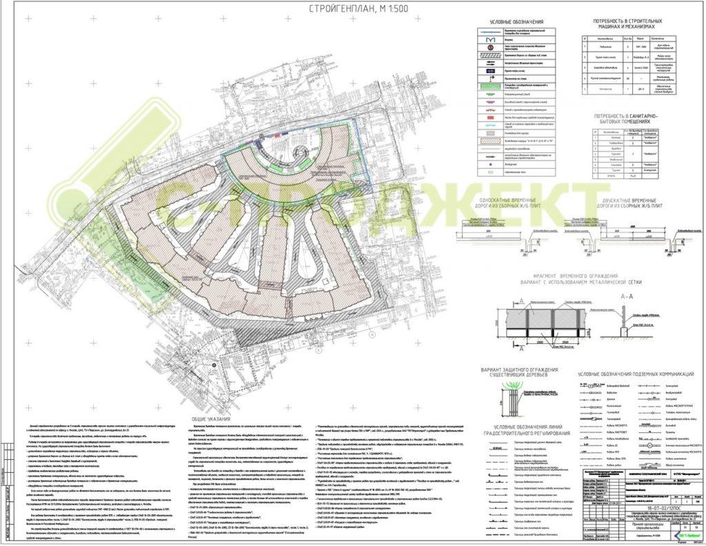 разработка проекта организации строительства ЖК Итальянский квартал