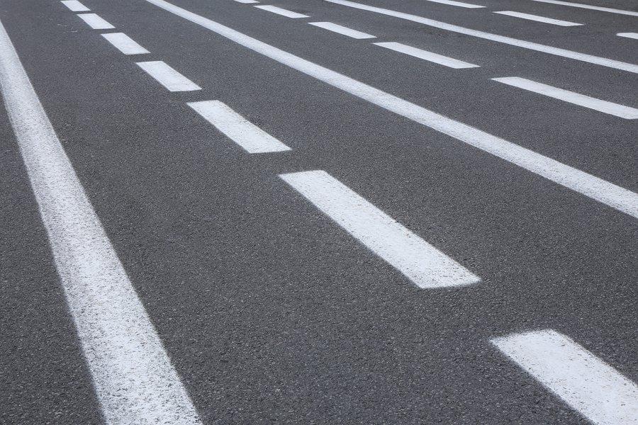 нанесение дорожной разметки дорог