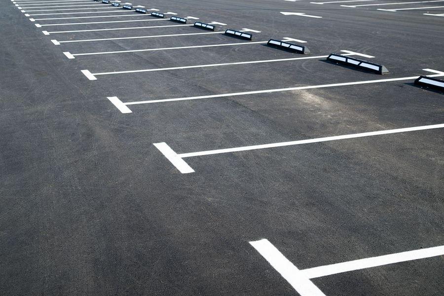 нанесение дорожной разметки парковок